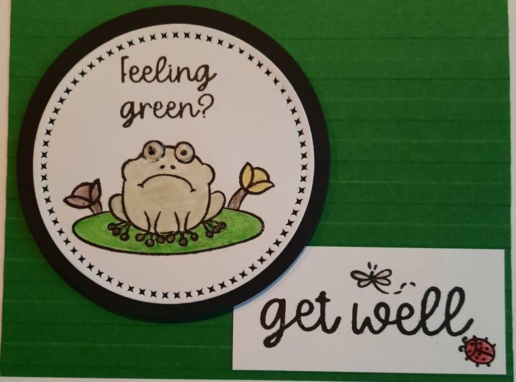 get well frog